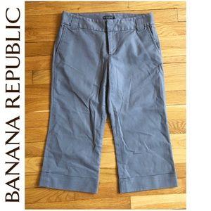 Banana Republic Grey Dress Capri